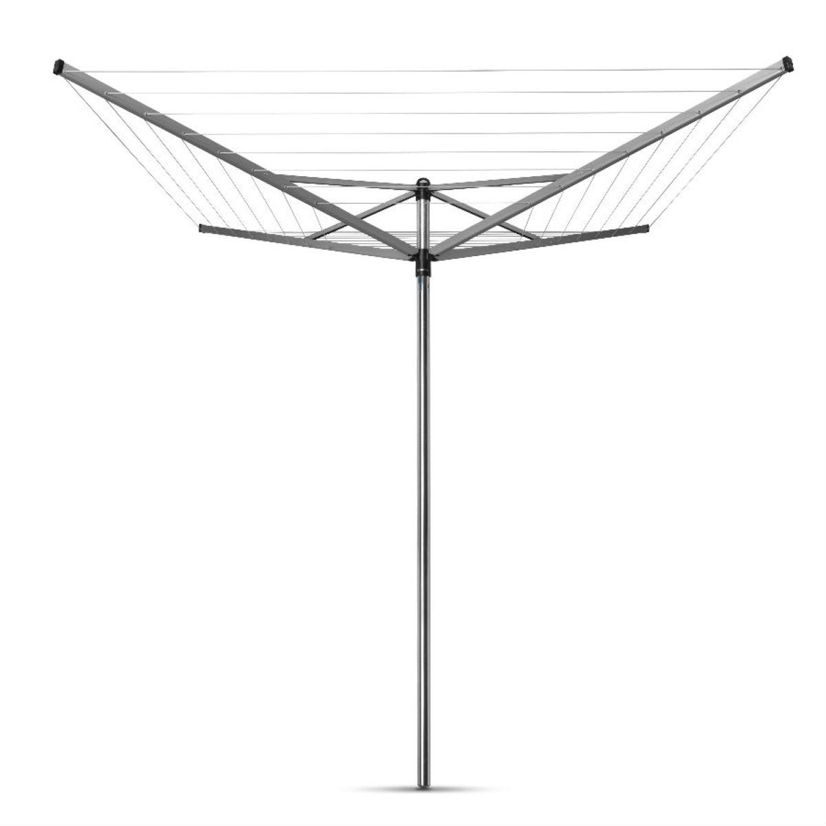 Brabantia Topspinner 40m 4-Arm Rotary Airer with Ground Spike