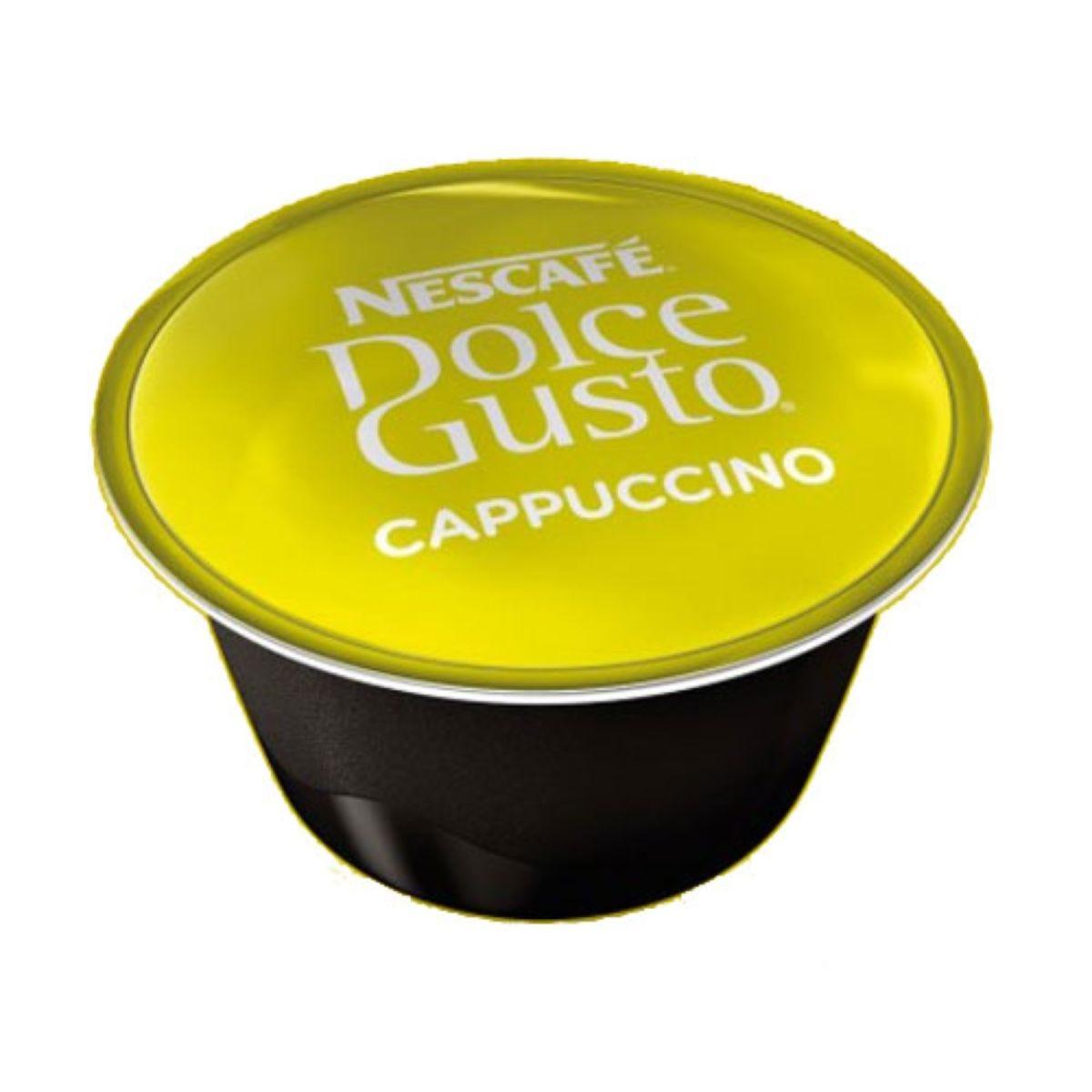 Nescafé Dolce Gusto Cappuccino Pods - 8 pack