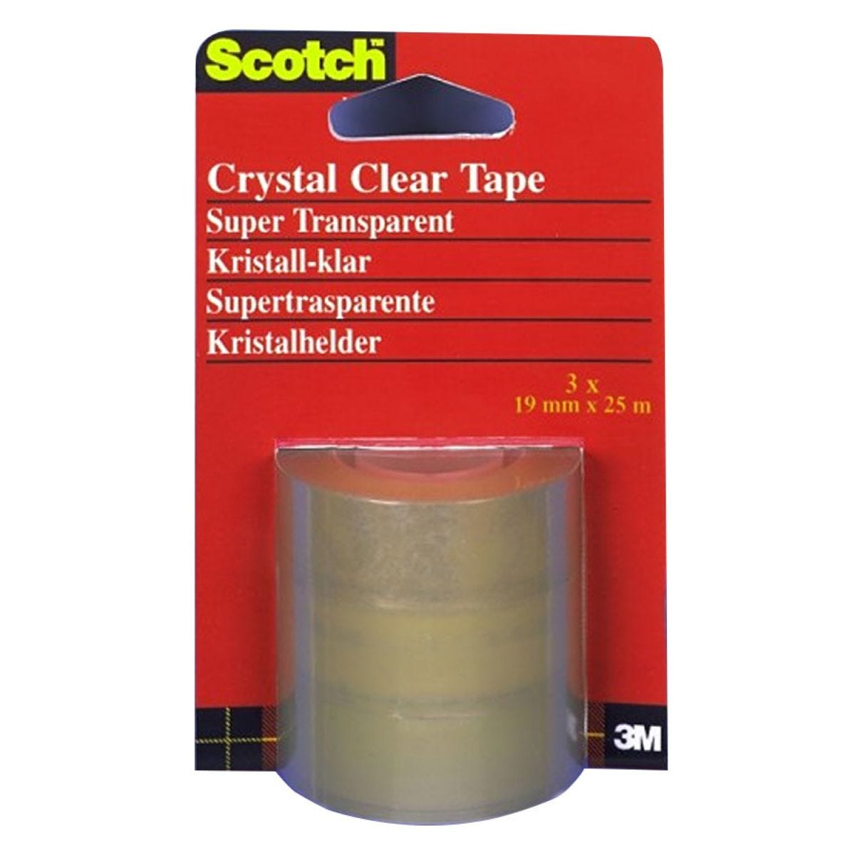 3M Scotch Crystal Clear Tape