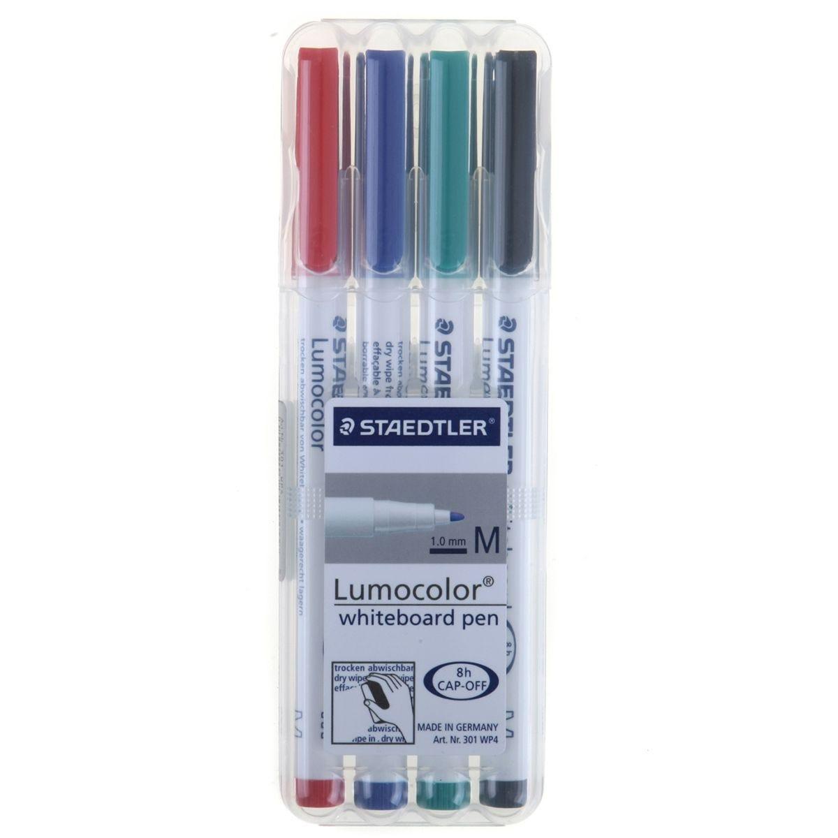 Staedtler Lumocolor Marker Pen Whiteboard - Pack of 4