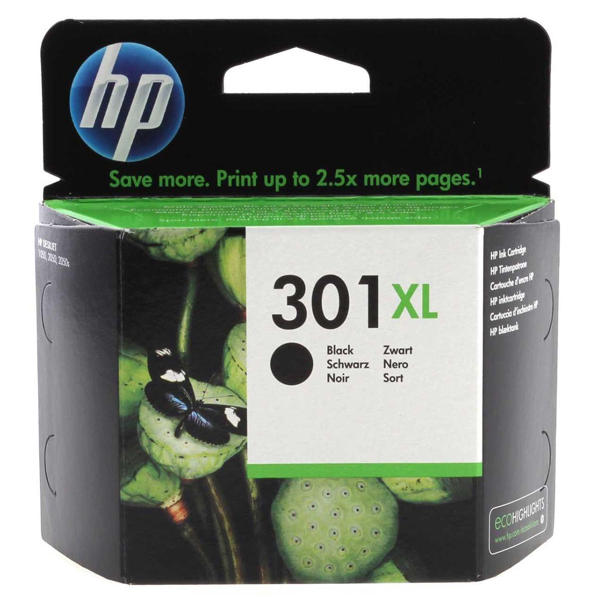 HP 301XL Inkjet Cartridge - Black