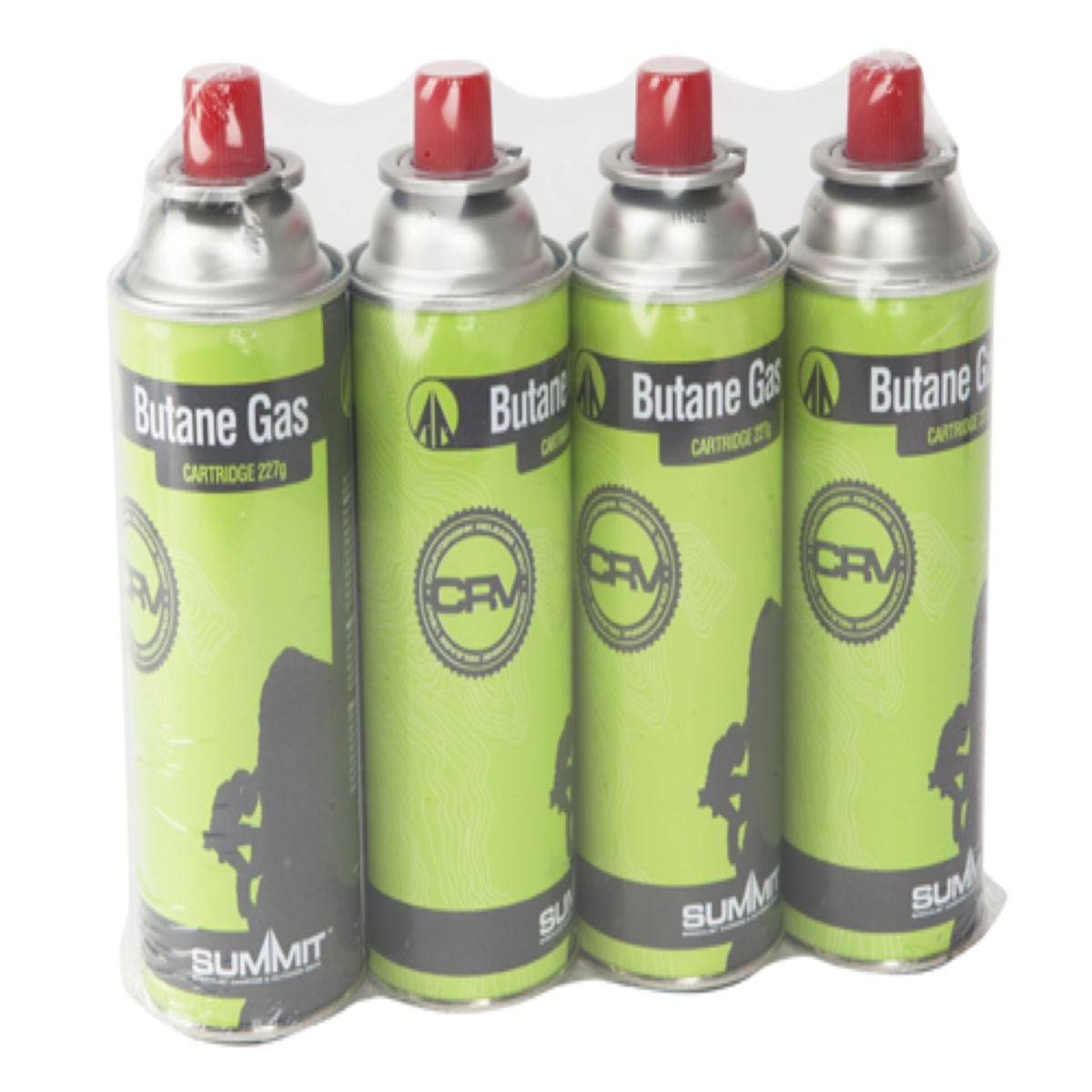 Summit Butane Gas Canisters – 4 Pack