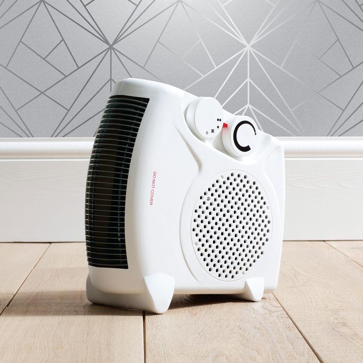 Fine Elements 2000W Flat Fan Heater