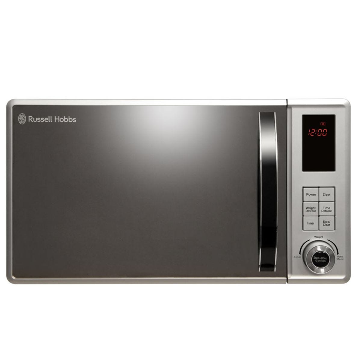 Russell Hobbs RHM2362S 800W 23L Digital Microwave – Silver