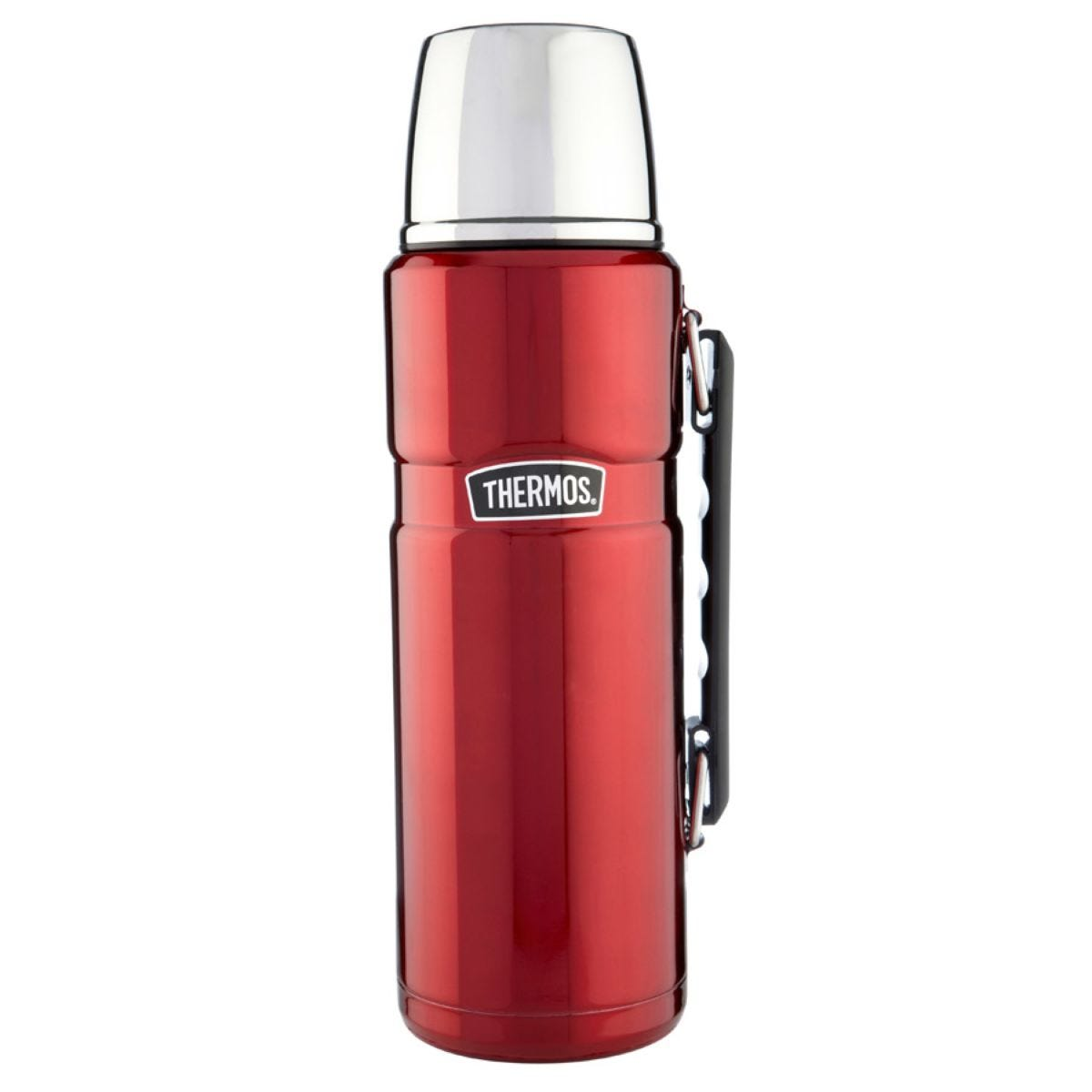 Thermos 1.2L Stainless Steel King Flask - Red