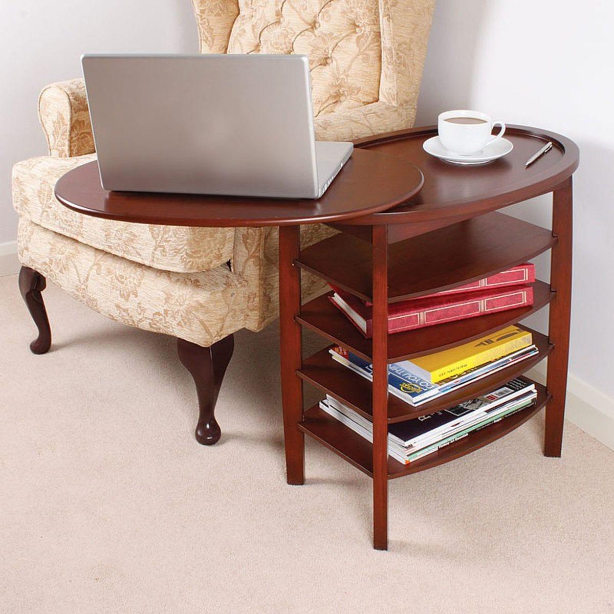 Gablemere Light Oak Swivel Top Table