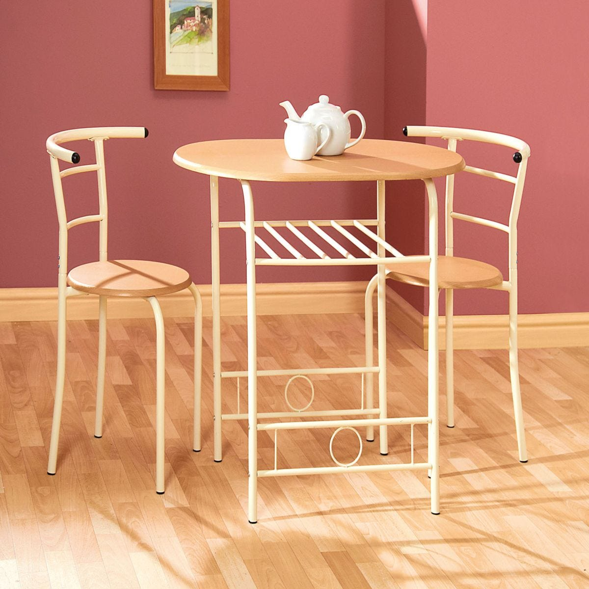 Gablemere Buttermilk Compact Dining Set
