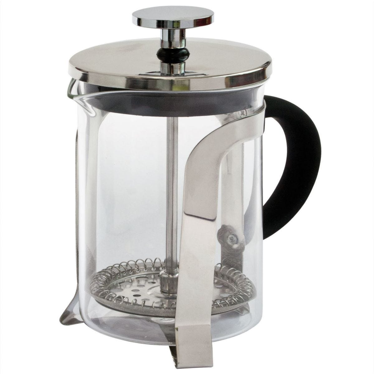 Robert Dyas 3-Cup Stainless Steel Cafetiere
