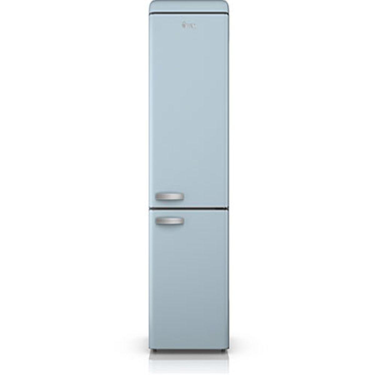 Swan SR11020BLN Retro Fridge Freezer - Blue