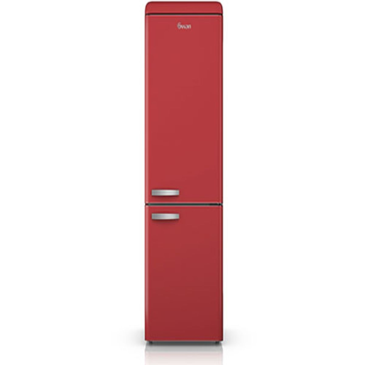 Swan SR11020RN Retro Fridge Freezer - Red
