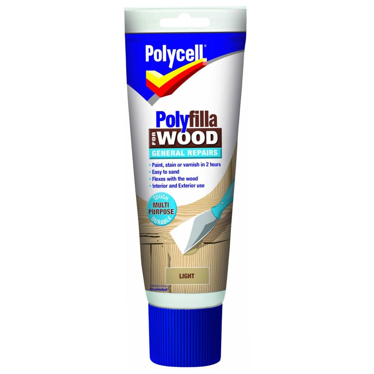 Polycell Polyfilla For Wood General Repairs 330ml - Light