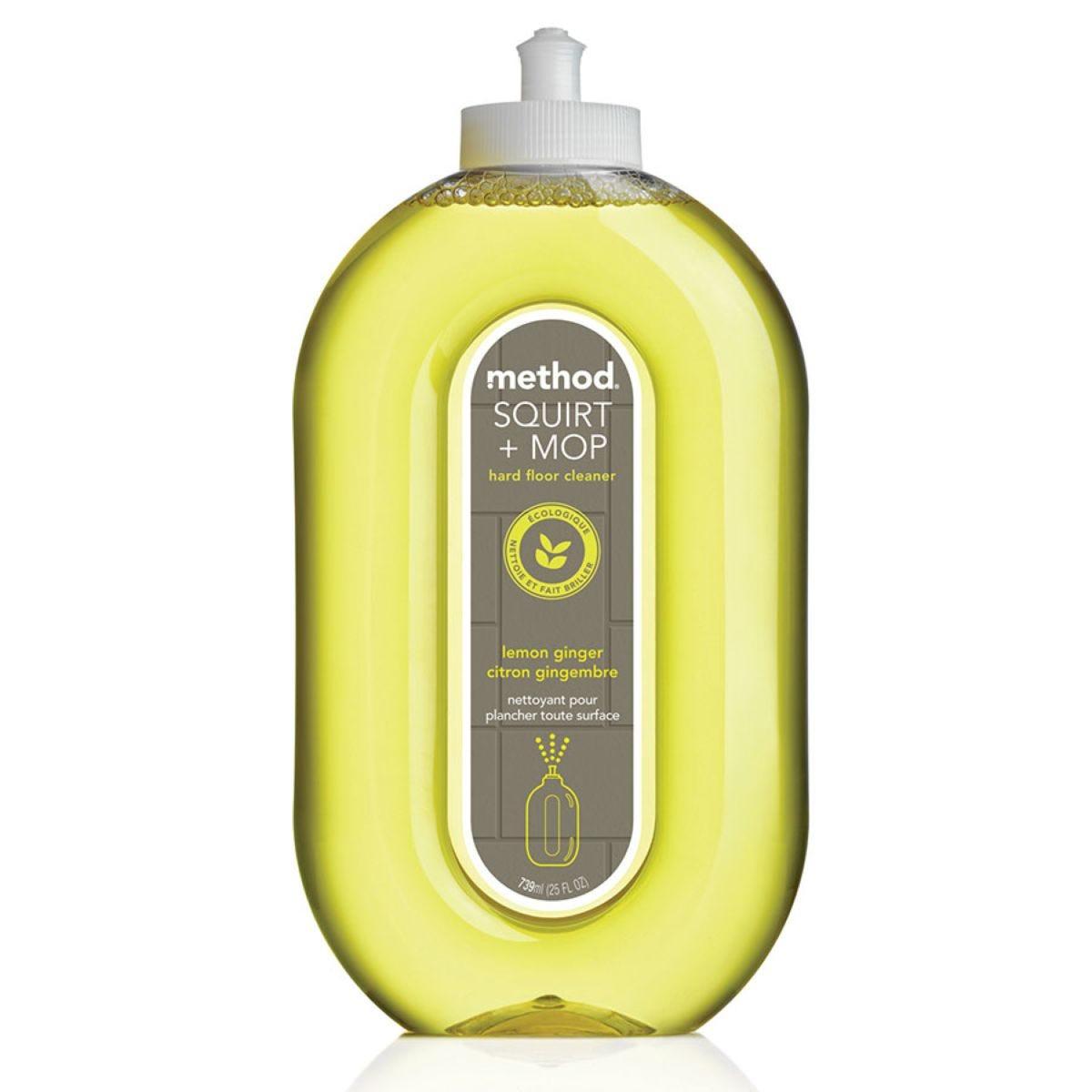 Method Squirt & Mop Hard Floor Cleaner - Lemon Ginger