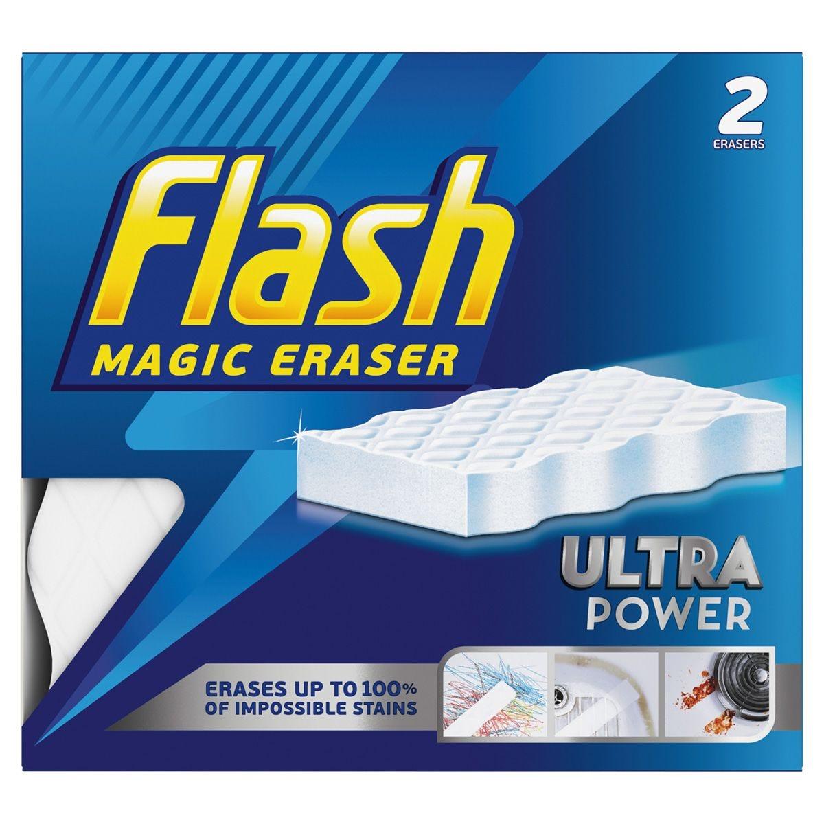 Flash Magic Eraser Extra Power - 2 Pack