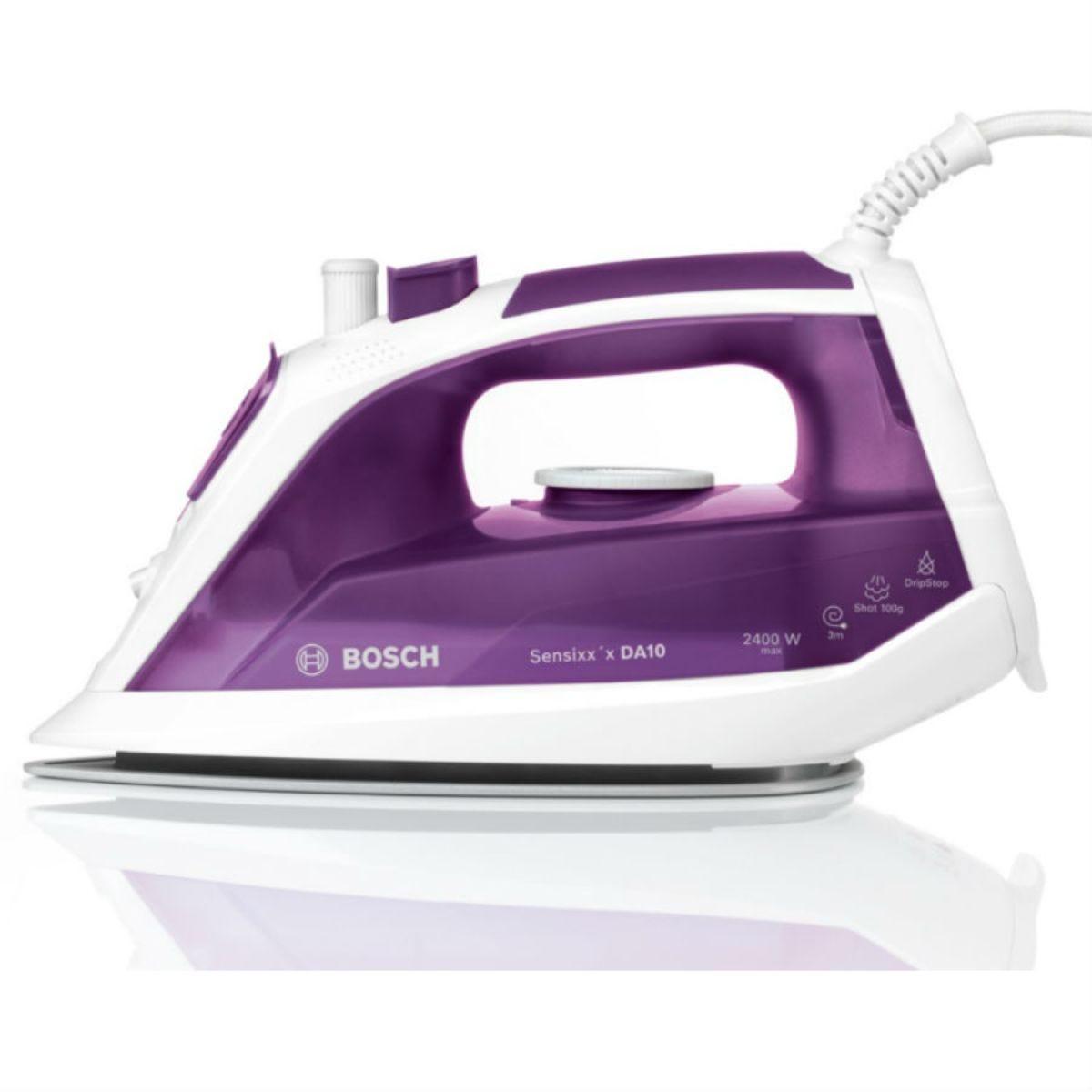Bosch TDA1060GB Sensixx'x DA10 2400W Steam Iron – Purple