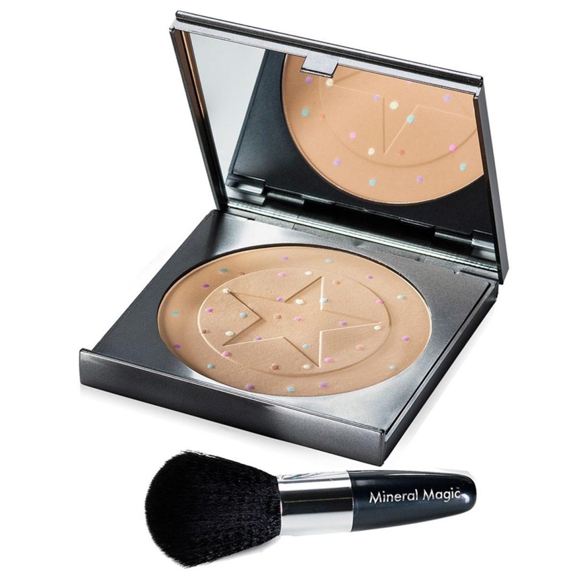 JML Mineral Magic: Skin Perfecting Make-up Powder & Brush Set