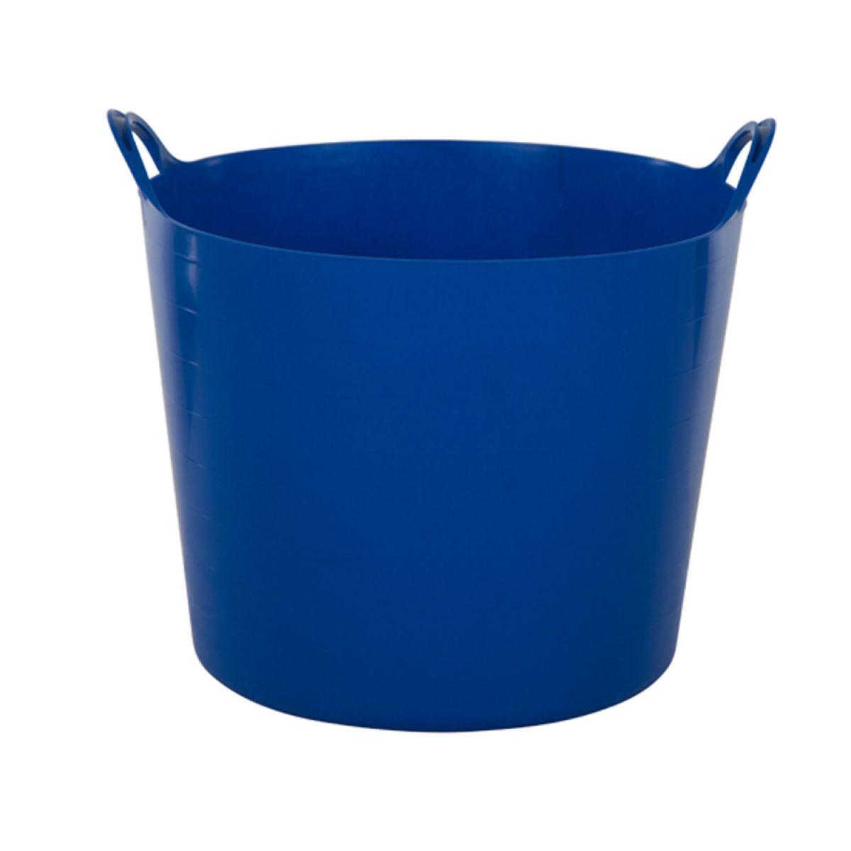 Whitefurze 39L Flexible Tub – Blue