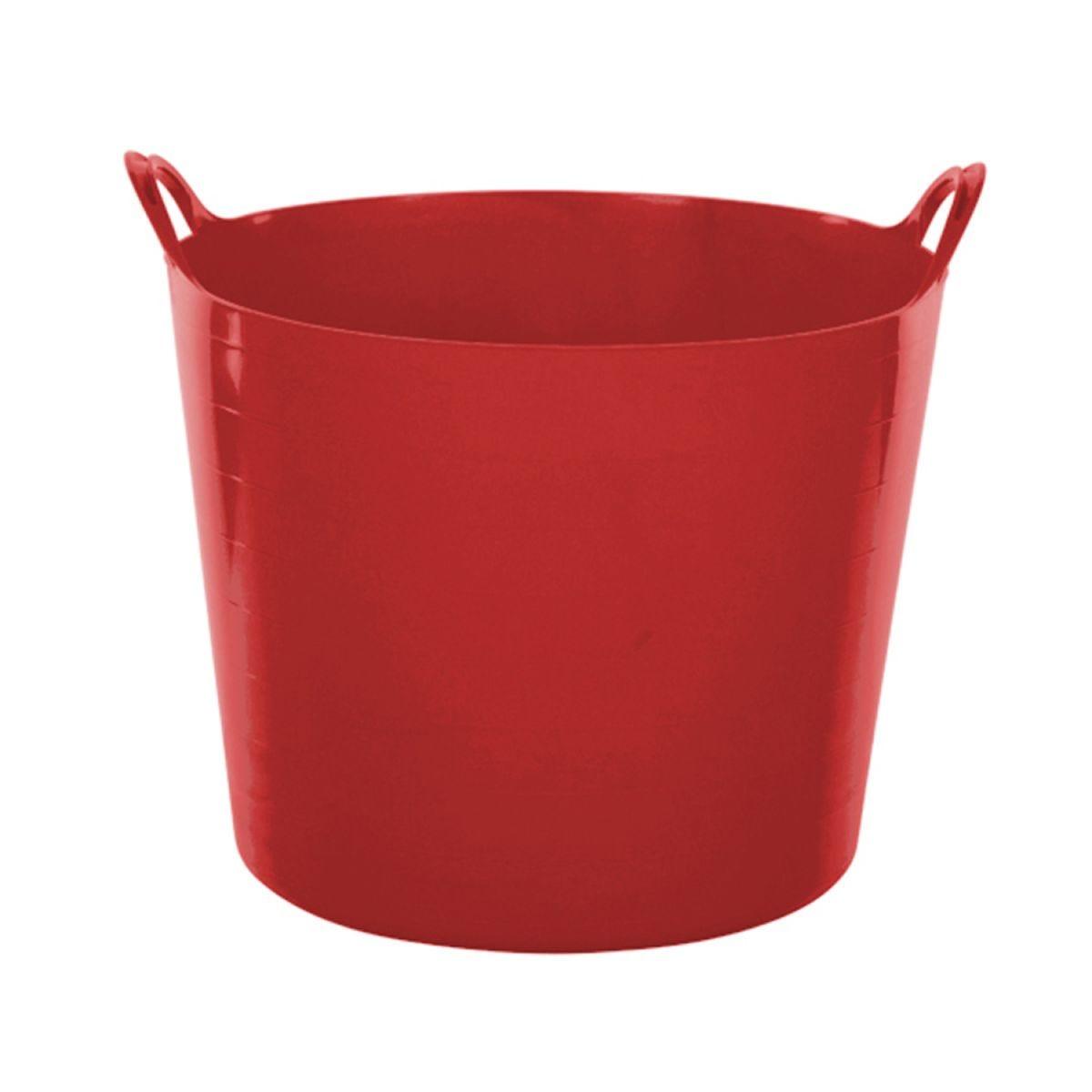 Whitefurze 14L Flexible Tub – Red