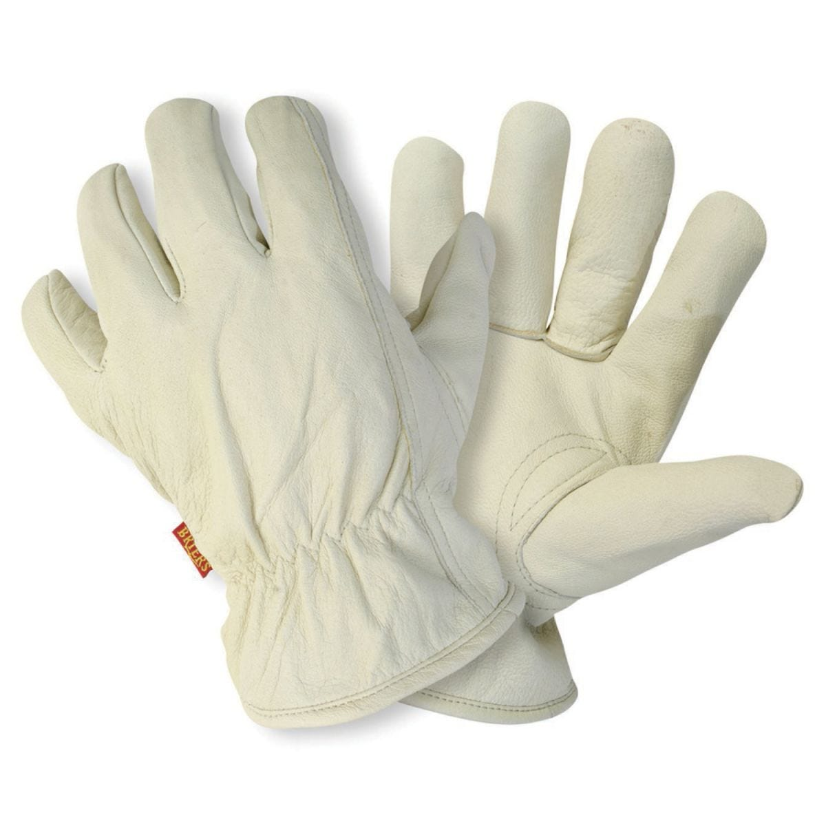 Briers Lined Leather Gardening Gloves - Medium