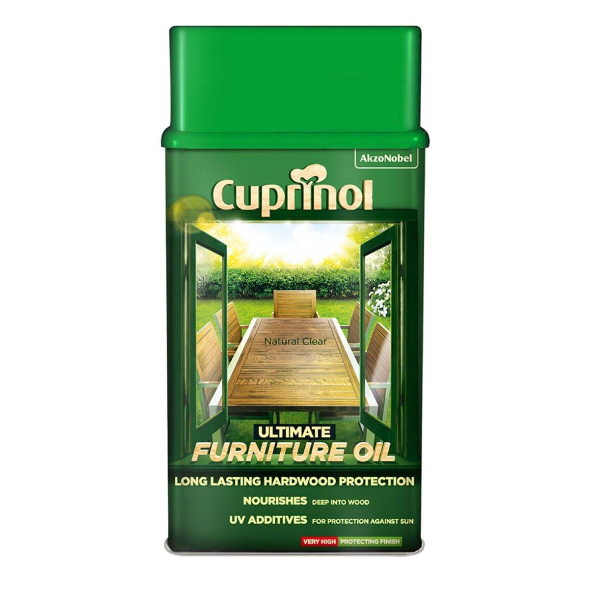 Cuprinol Ultimate Furniture Oil – 1L