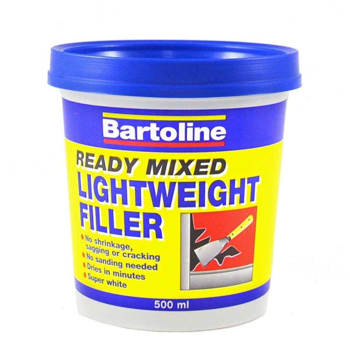 Bartoline 500ml Lightweight Filler - White