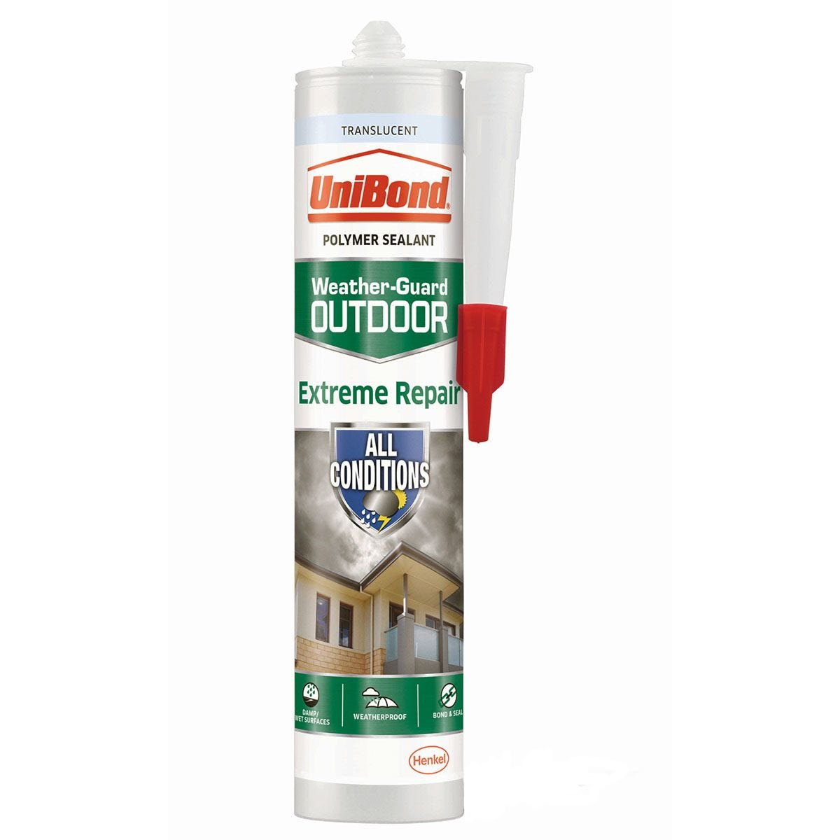 UniBond Weather Guard Extreme Repair Sealant - Translucent
