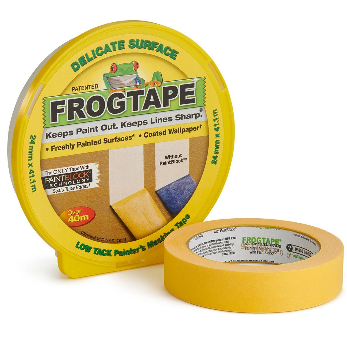 FrogTape Delicate Surface – 24mm x 41.1m