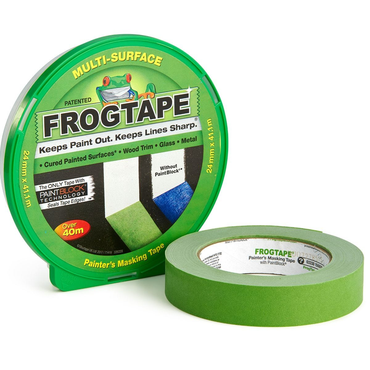 FrogTape Multi-Surface – 24mm x 41.1m