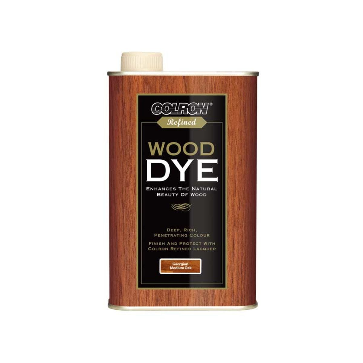 Colron Refined Wood Dye Georgian Medium Oak 250ml