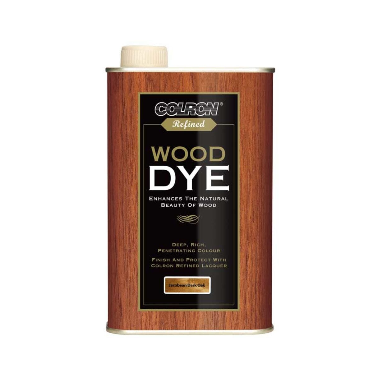 Colron Refined Wood Dye  Jacobean Dark Oak, 250ml