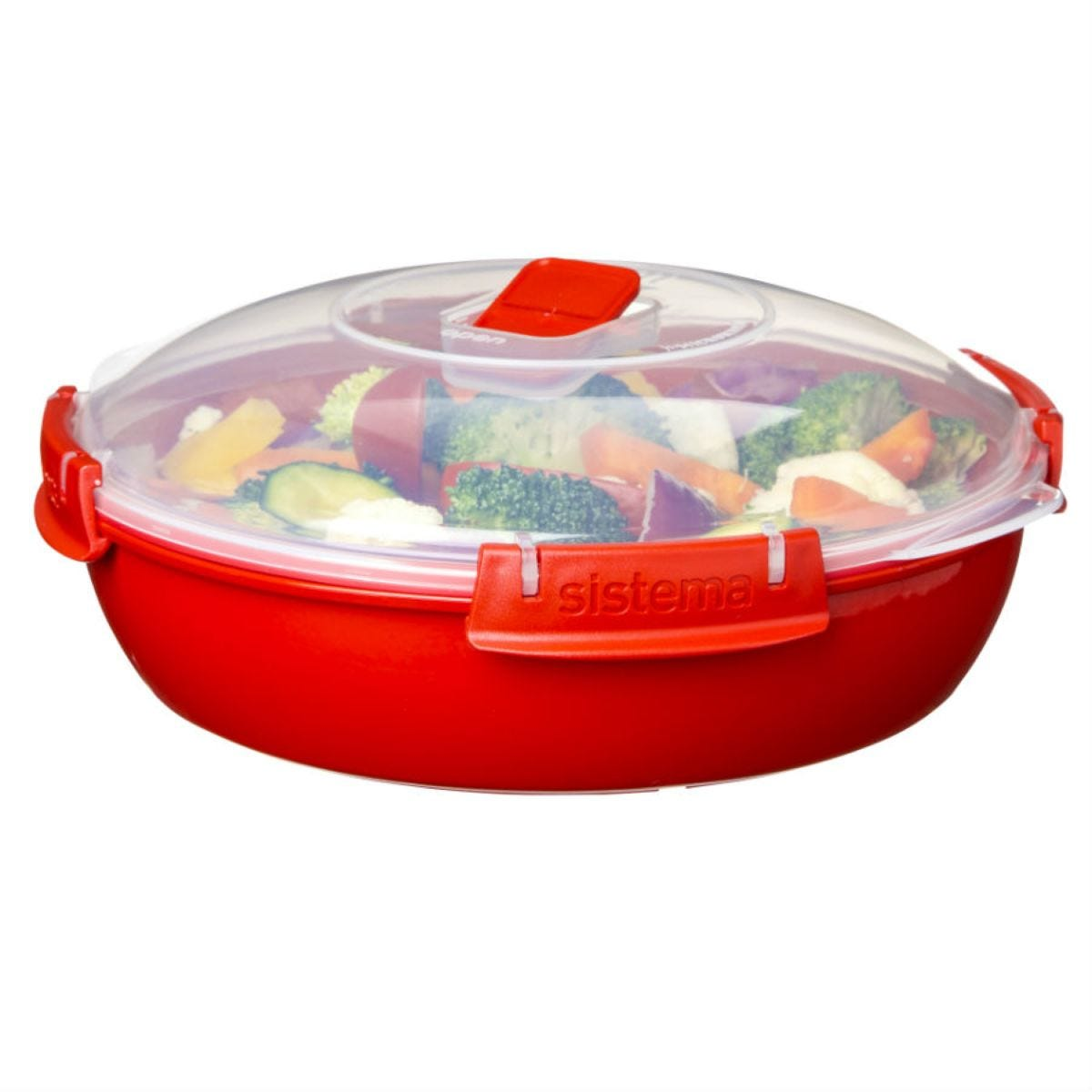 Sistema Microwave Plate 1.3L Round with Lid