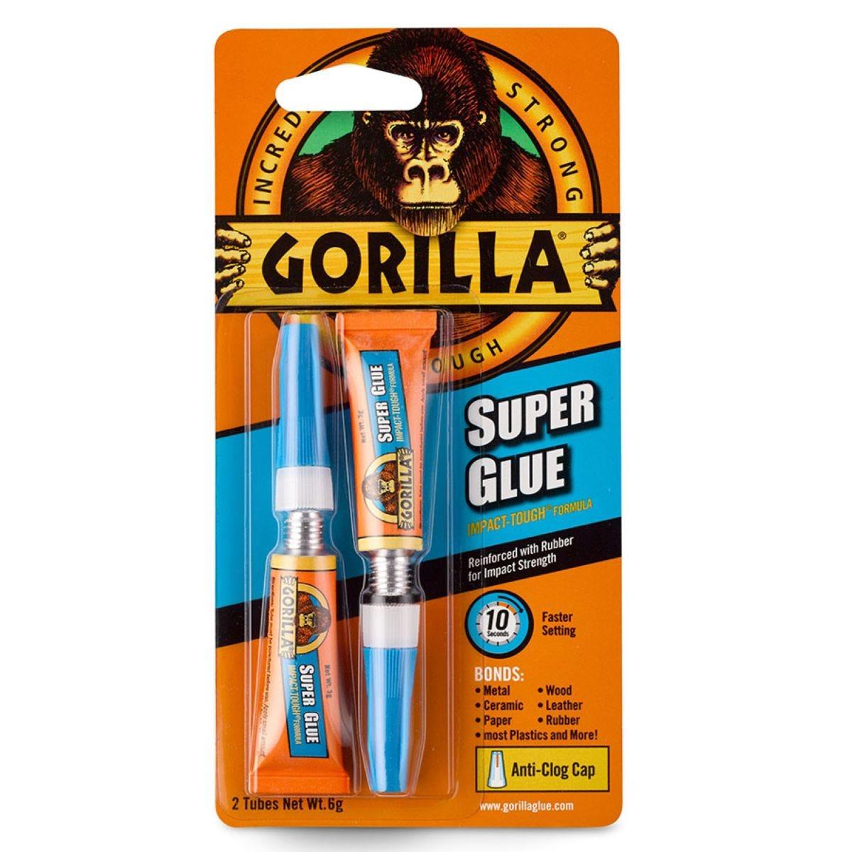 Gorilla Superglue - 2 x 3g
