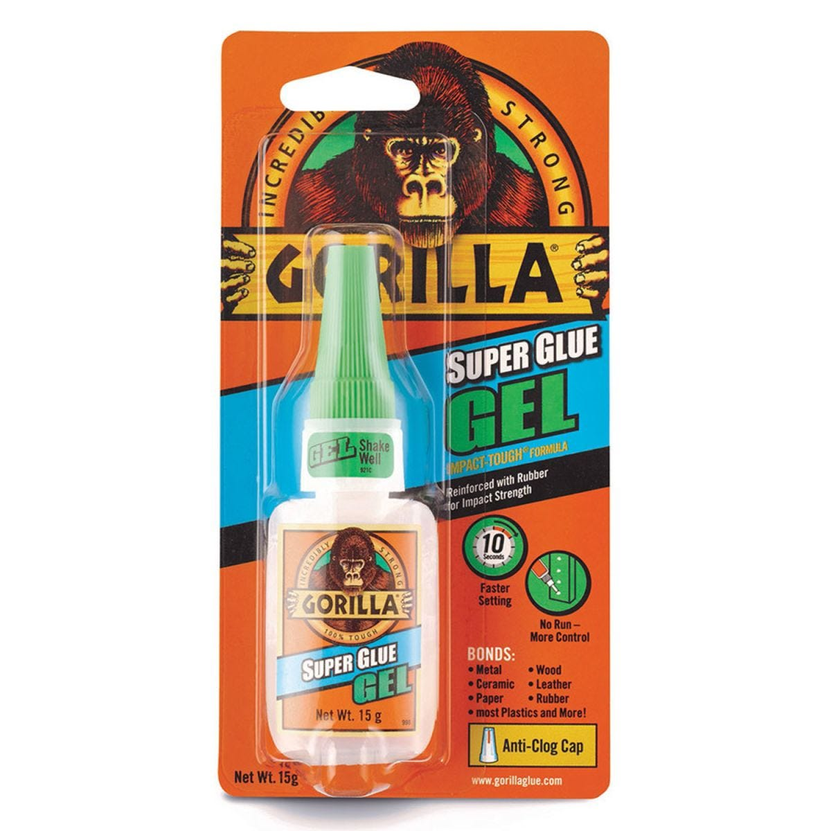 Gorilla Superglue Gel - 15g