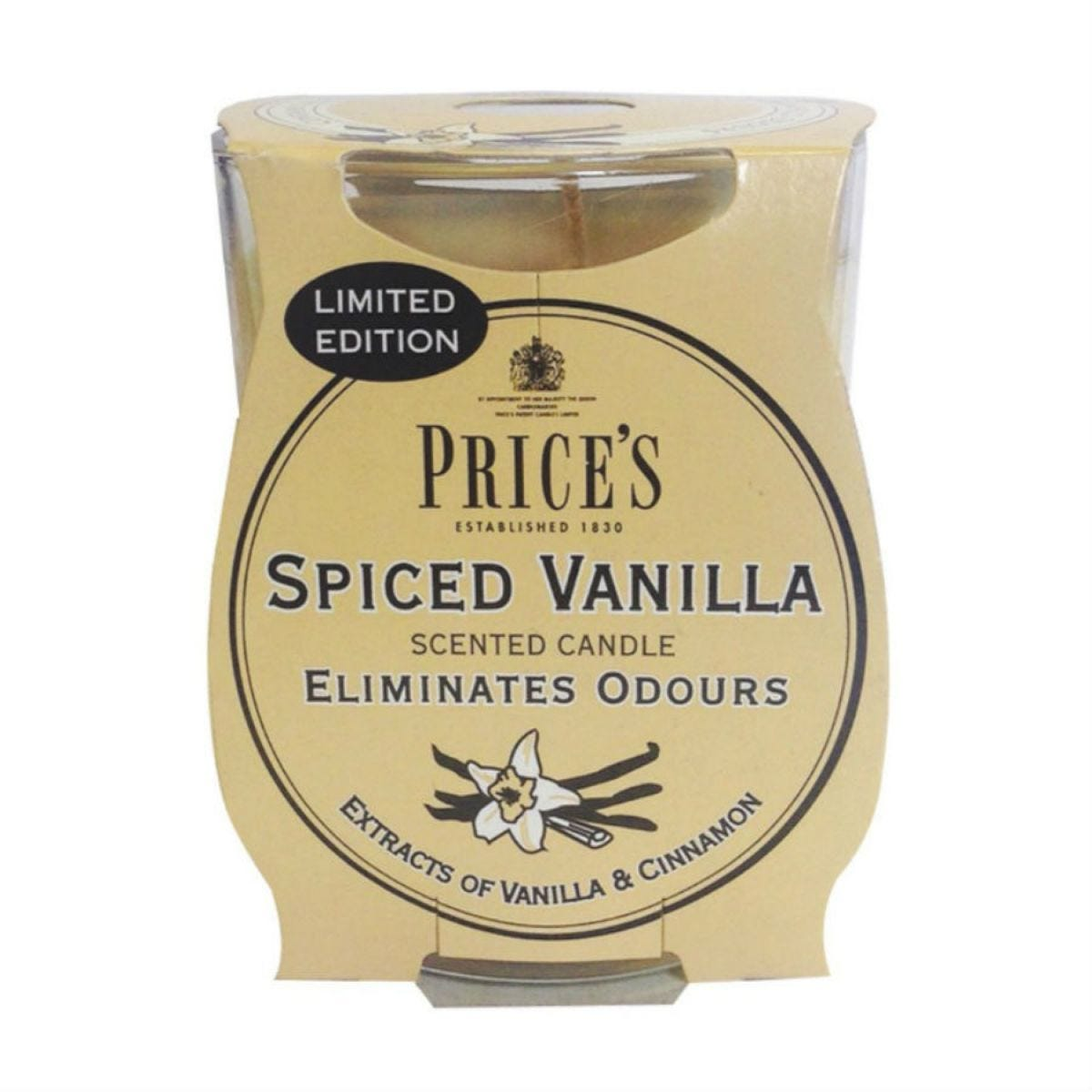 Price's Scented Candle Jar – Spiced Vanilla