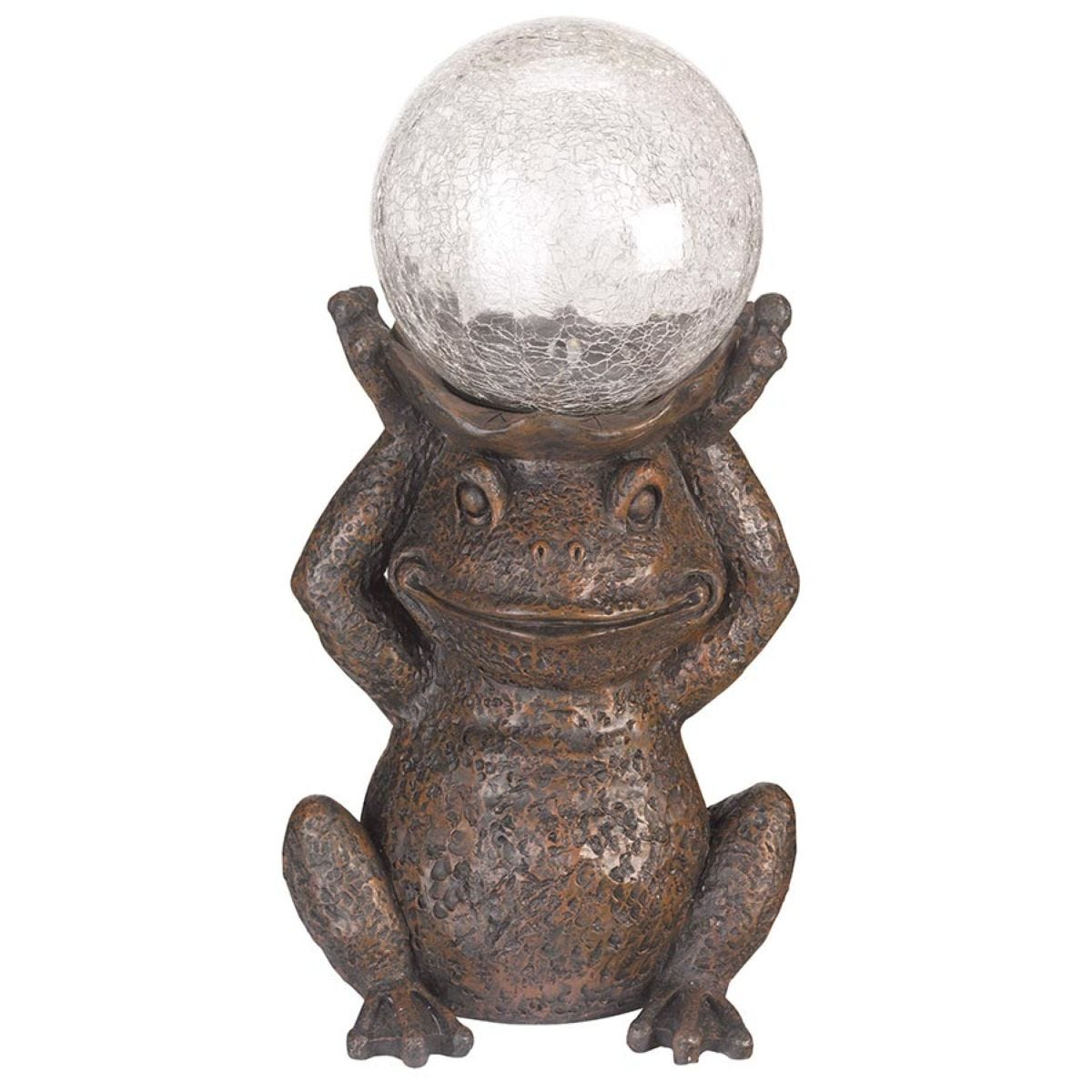 Smart Solar Gazing Frog