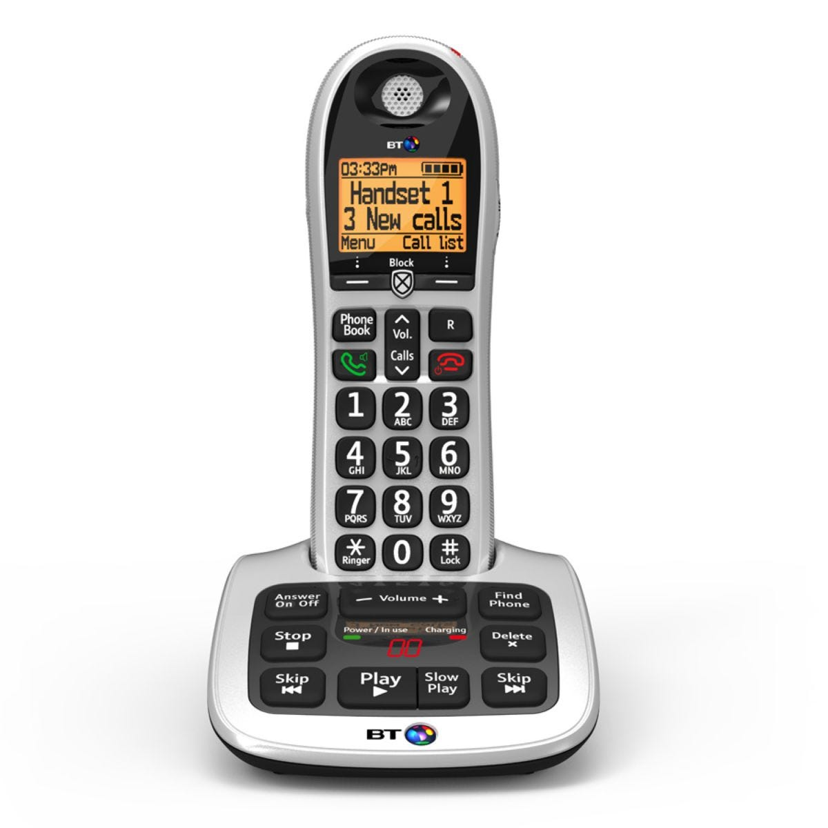 BT 4600 Cordless Telephone with Answering Machine - Single