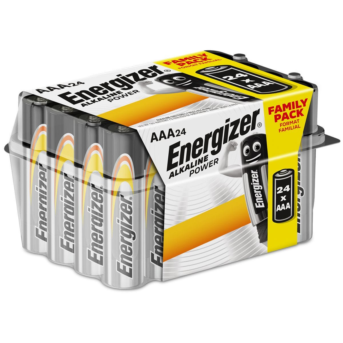 Energizer AAA Alkaline Power Batteries - 24 Pack