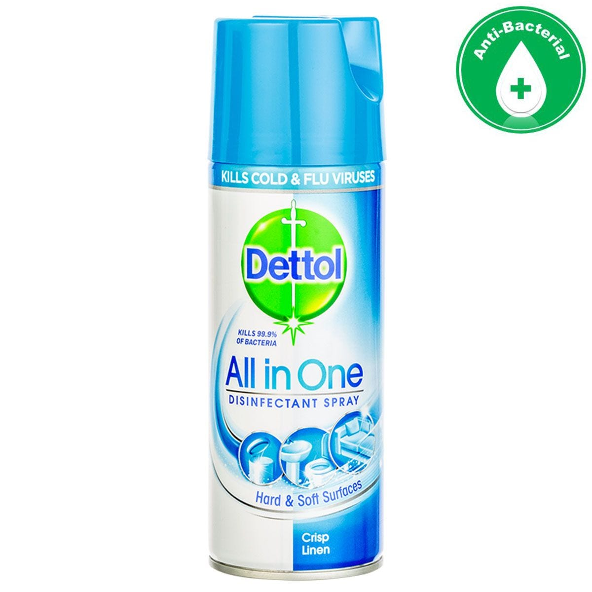 Dettol All-in-One Antibacterial Disinfectant Spray - 400ml
