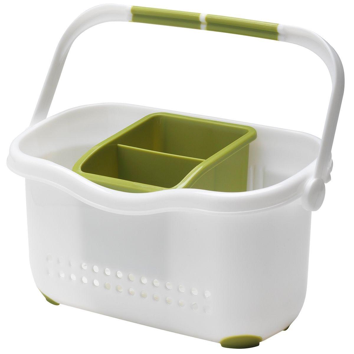 Addis Sink Caddy – White/Green