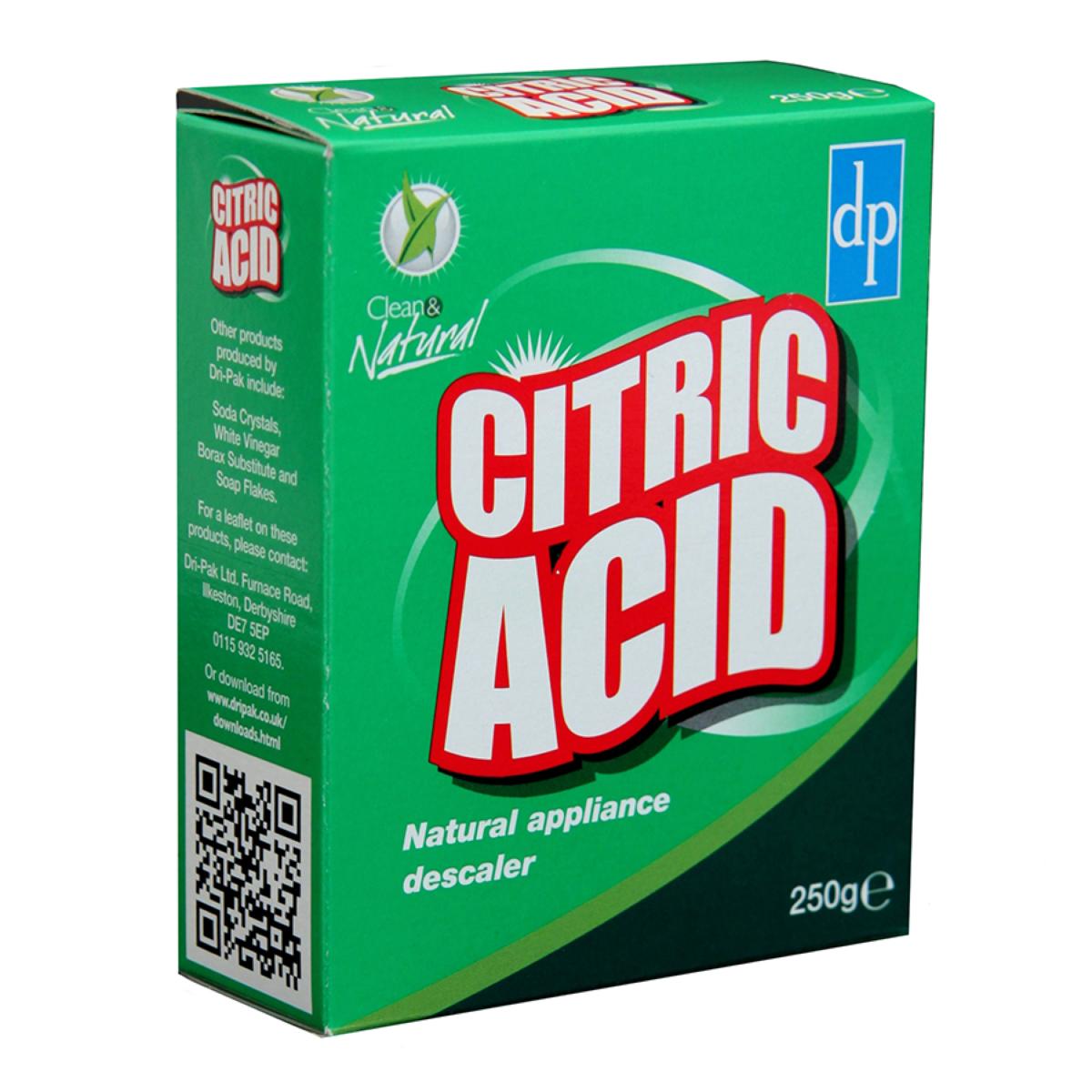 Dri-Pak Citric Acid Powder - 250g