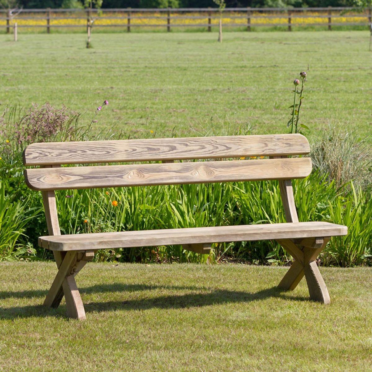 Zest4Leisure Wooden Harriet Bench