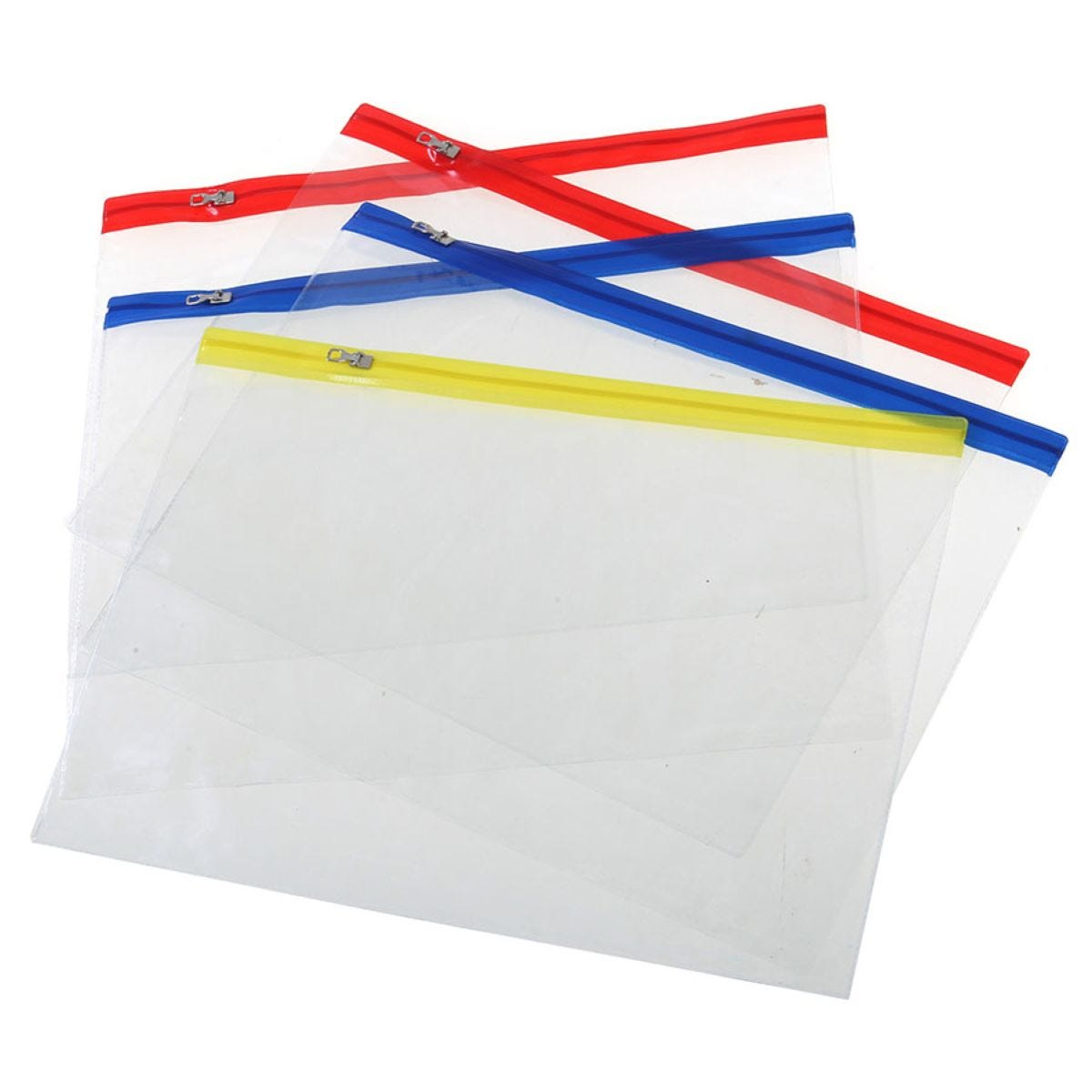 Ryman A4 Zip Bags – Pack of 5