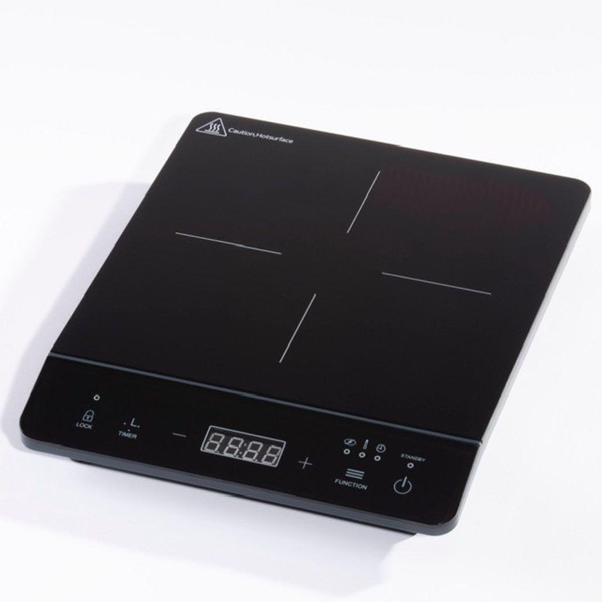 Daewoo SDA1805 2000W Single Induction Hob - Black