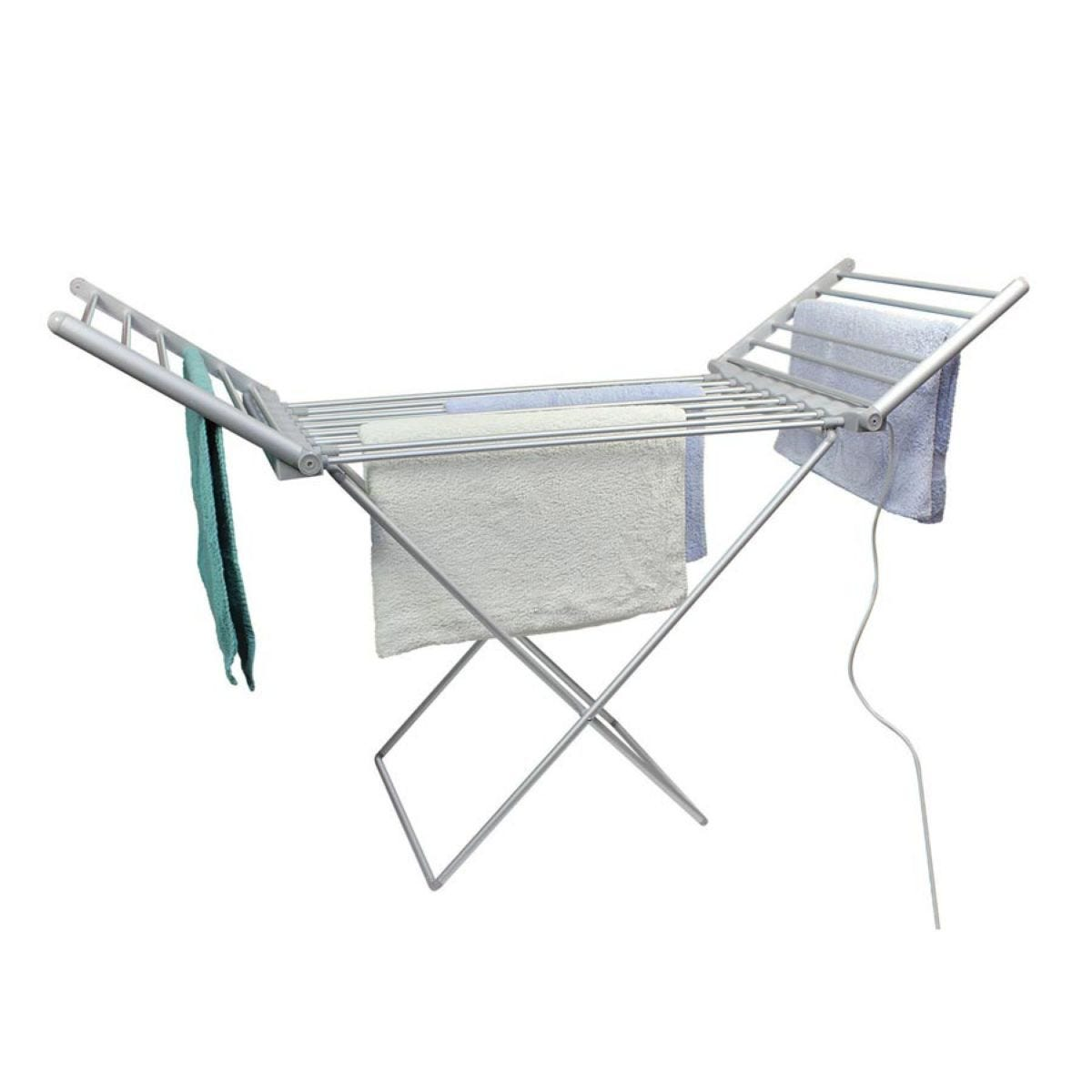 Energy-Saving Folding Heated Clothes Airer