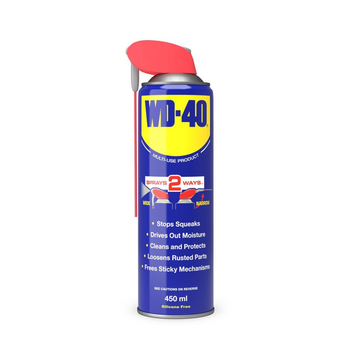 WD-40 Multi-Use Lubricant Smart Straw 450ml