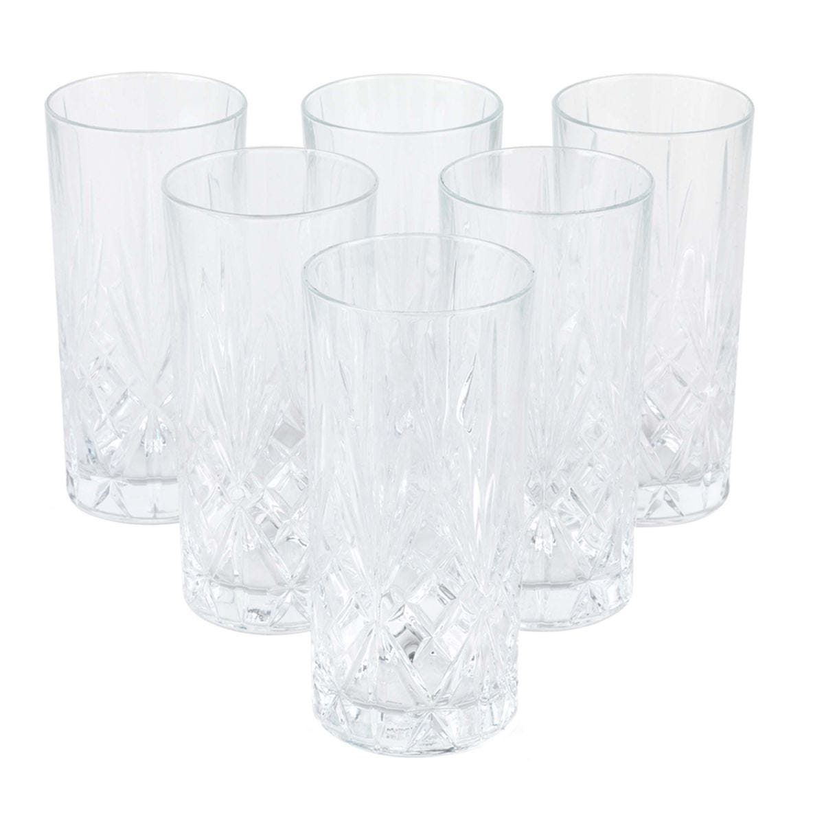 RCR Melodia Highball Glasses - Set of 6