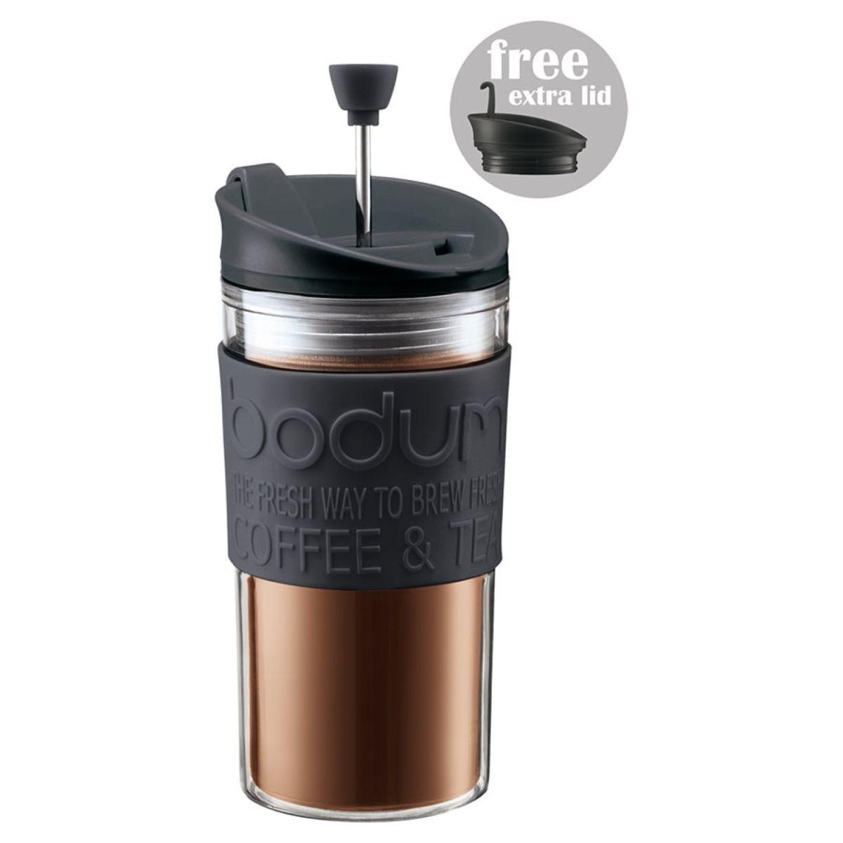 Bodum 350ml Travel Coffee Press – Black