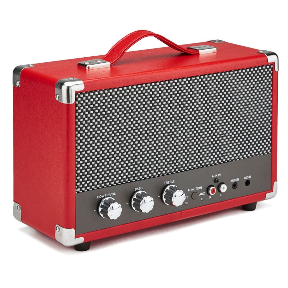 GPO Westwood Bluetooth Speaker – Red
