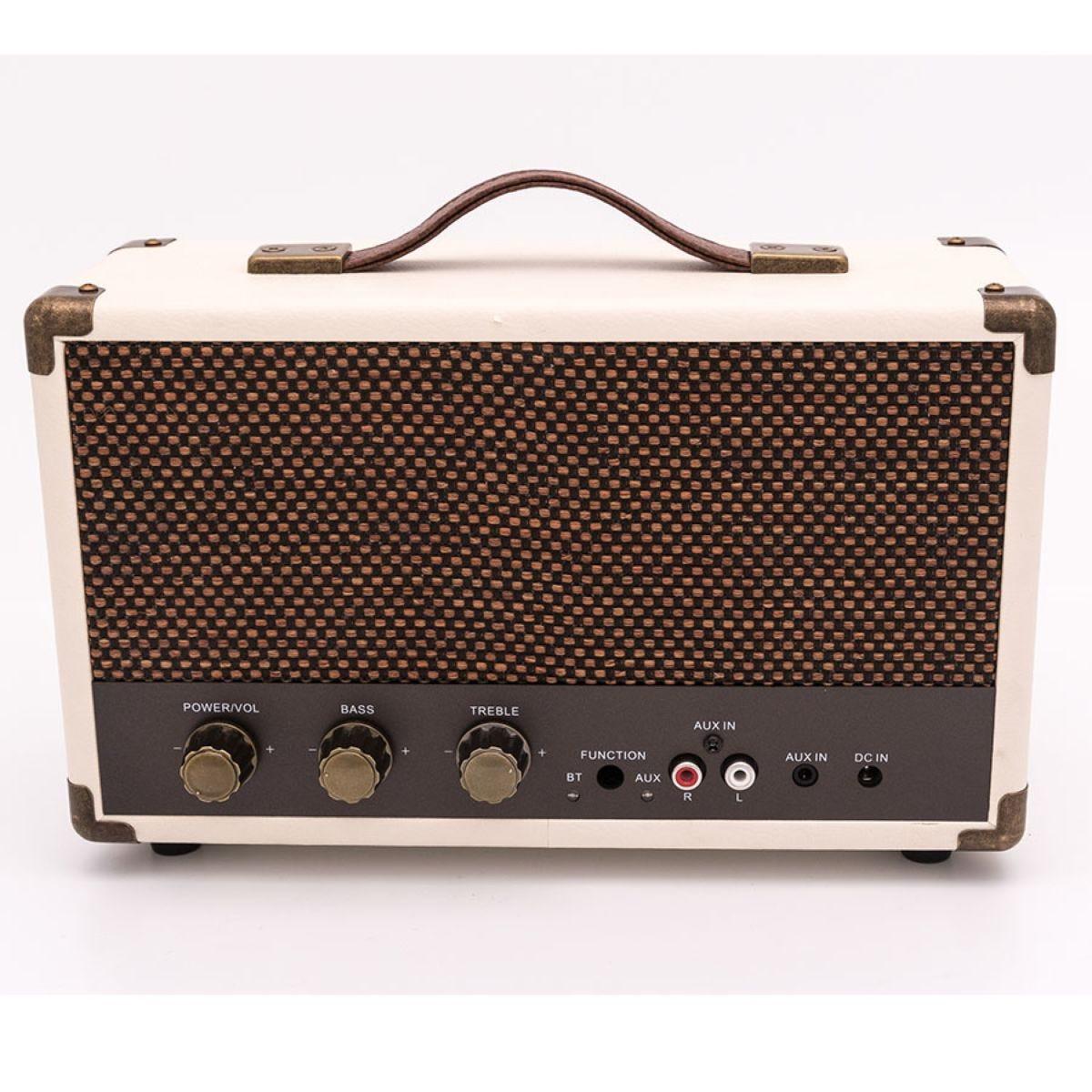 GPO Westwood Bluetooth Speaker – Cream & Tan