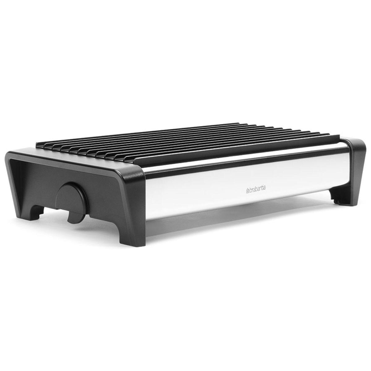 Brabantia 2 burner Food Warmer - Brilliant Steel / Black