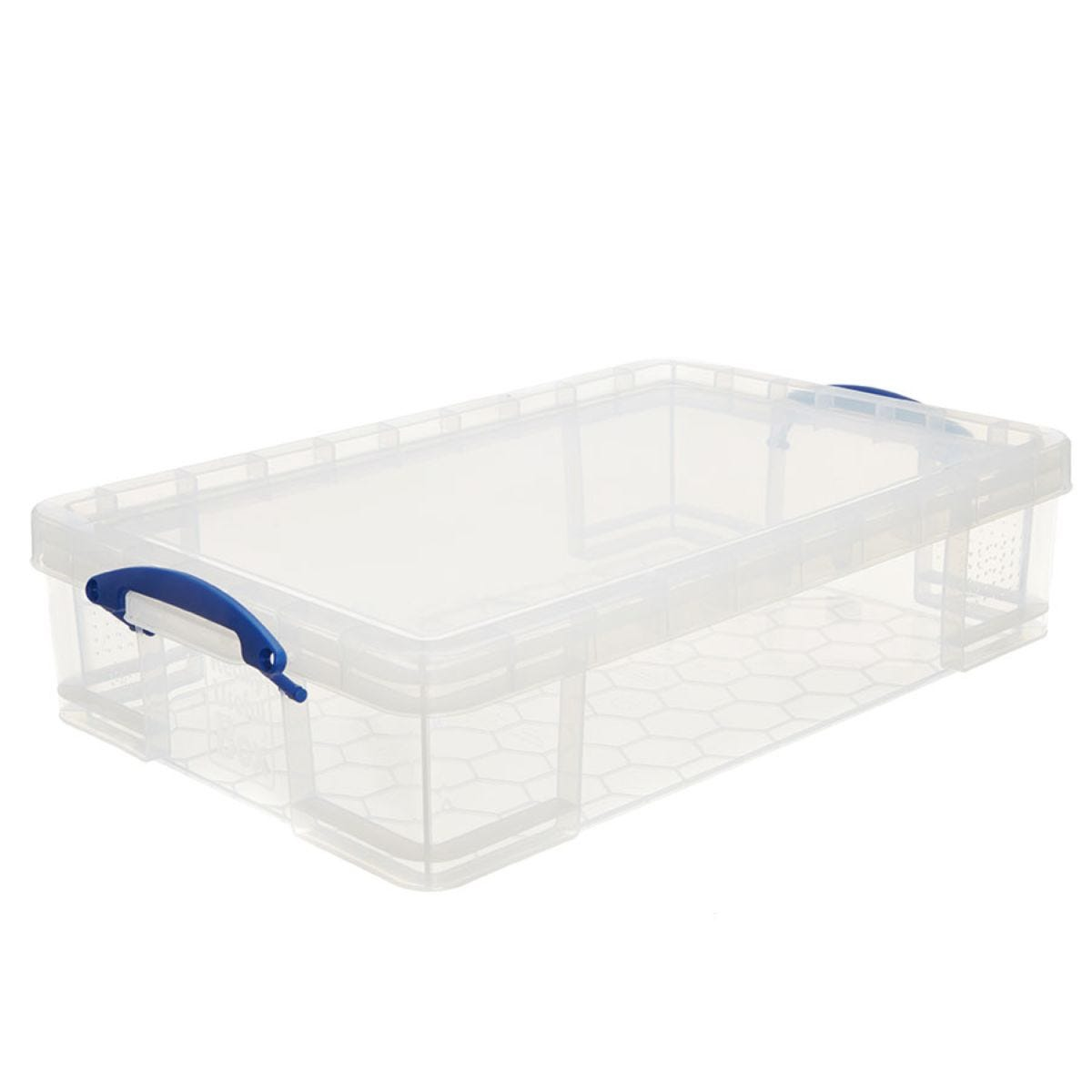 Really Useful 33L Underbed Storage Box - Clear